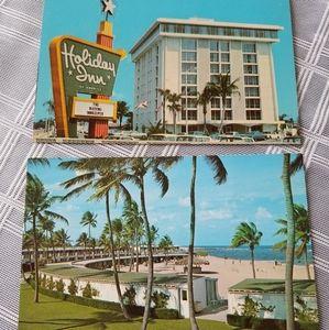 Vintage Florida Hotel Postcards (2)